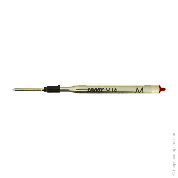 Red Lamy M16 Ballpoint Pen Refill Medium