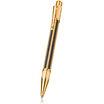 Caran d'Ache Varius Chinablack Ballpoint Pen Gold - 1