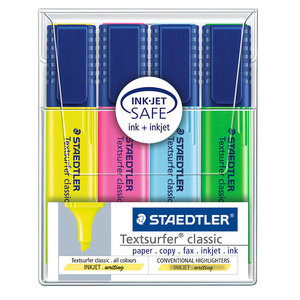 Staedtler Textsurfer Classic set of four - 1