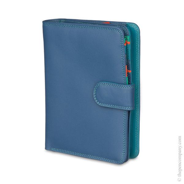 Aqua Mywalit Large Snap Wallet Purse
