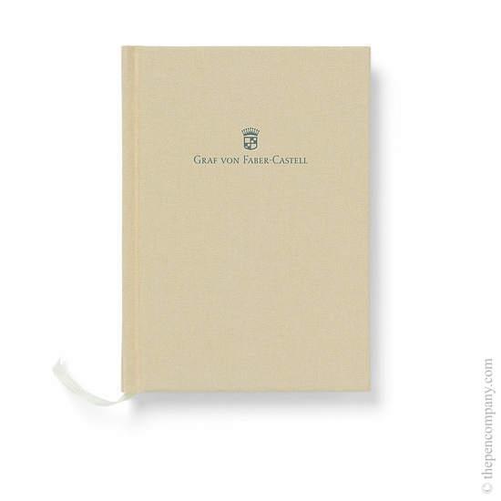 Golden Brown A6 Graf von Faber-Castell Linen Notebook Journal - 1