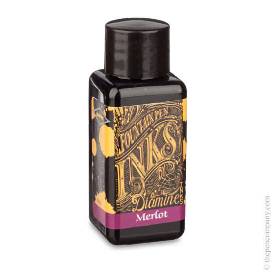 Merlot Diamine Fountain Pen Ink 30ml - 1