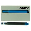Lamy T10 Fountain Pen Ink Cartridges Turquoise - 1