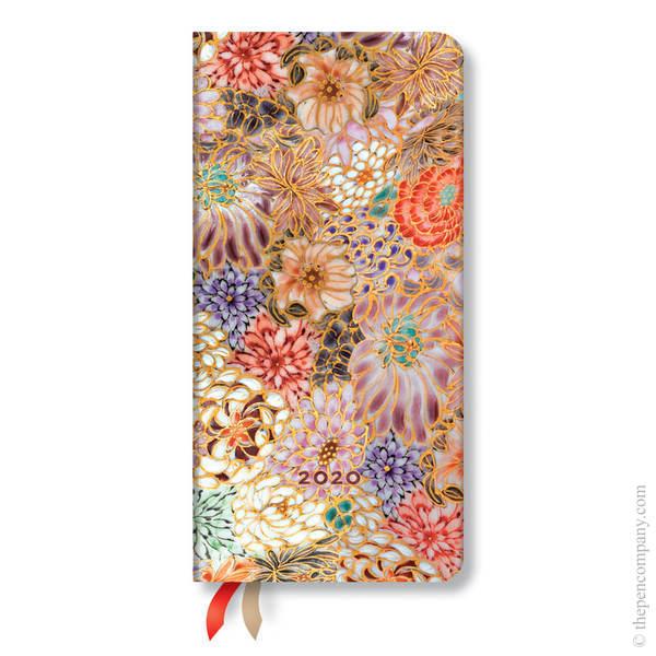 Slim Paperblanks Michiko 2020 Diary