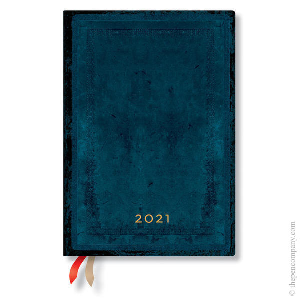 Midi Paperblanks Old Leather Flexi 2021 Diary 2021 Diary