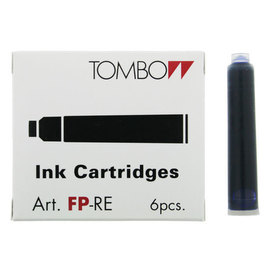 Tombow Fountain Pen Ink Cartridges Black - 1