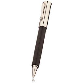 Black Graf von Faber-Castell Intuition Platino Fluted Rollerball Pen - 1