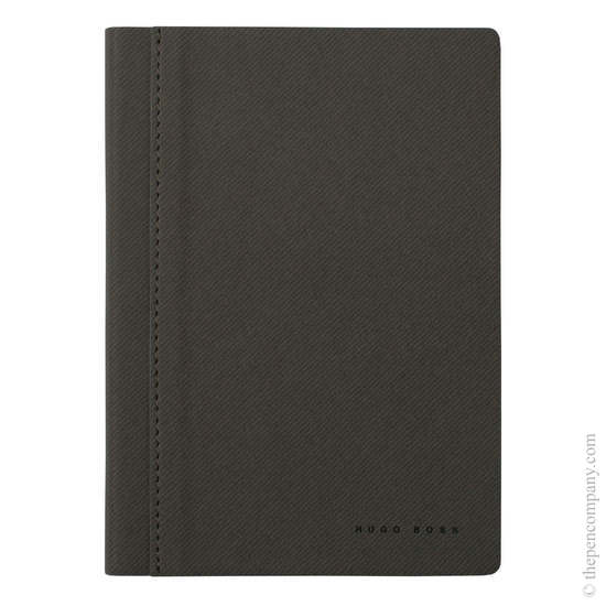 Light Grey A6 Hugo Boss Advance Fabric Note Pad - 3