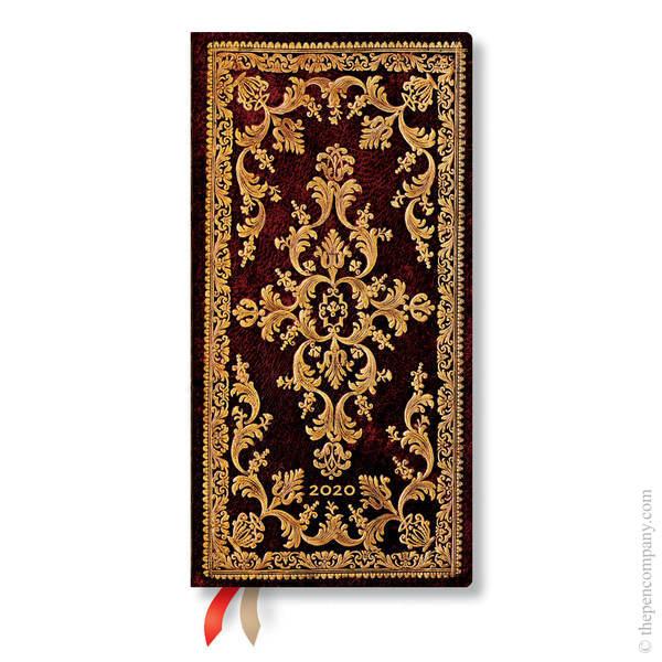 Slim Paperblanks Jewel of Urbino 2020 Diary