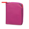 Mywalit Small Wallet with Zip-Around Purse Sangria Multi - 1