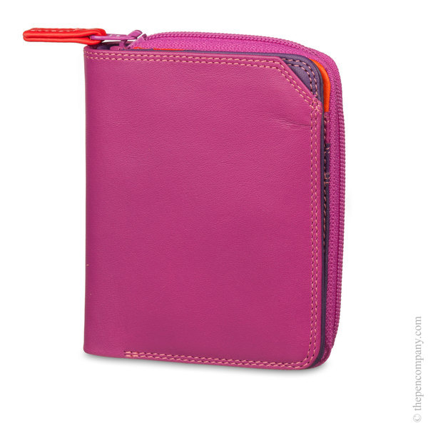 Sangria Multi Mywalit Small Zip Wallet Purse