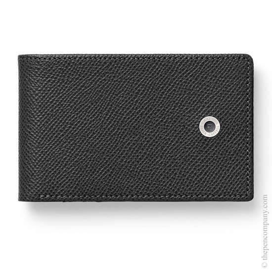 Black Graf von Faber-Castell Epsom Credit Card Case Small Holder - 2