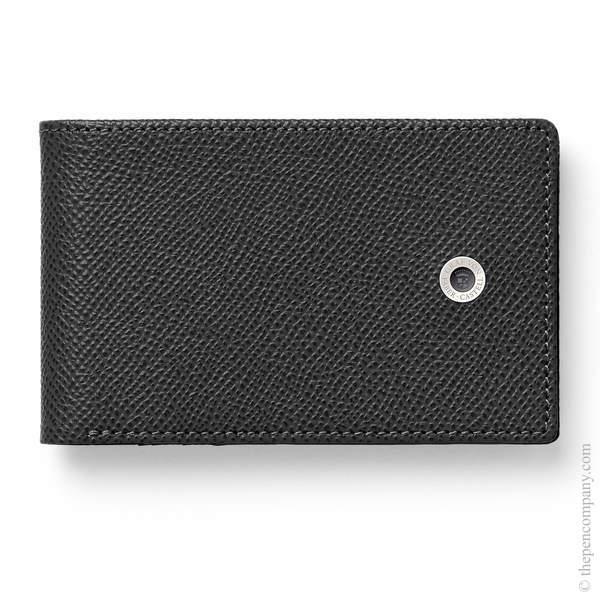 Black Graf von Faber-Castell Epsom Credit Card Case Small Card Holder