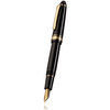 Sailor 1911 Standard Fountain Pen Black with Gold Trim - 1