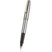 Sheaffer Sagaris rollerball pen - chome/gold - 2
