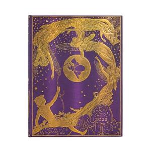 Paperblanks Violet Fairy Lang's Fairy Books 2022 Diary Ultra - Front