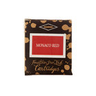 Diamine Monaco Red Fountain Pen Cartridges 6 Pack - 1