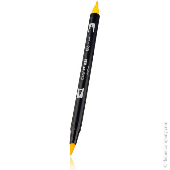 Tombow ABT brush pen 055 Process Yellow - 2