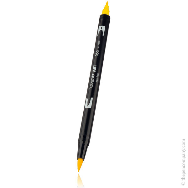 055 Process Yellow Tombow ABT Brush Pen