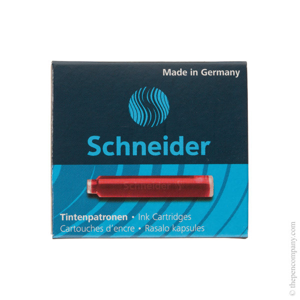 Red Schneider Ink Cartridges Refill