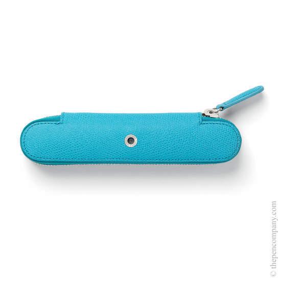 Gulf Blue Graf von Faber-Castell Zipper Case for One Pen - 1