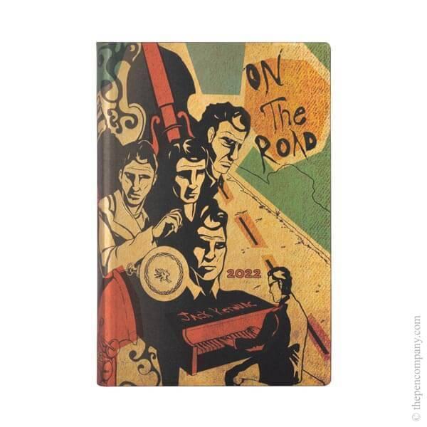 Mini Paperblanks Jack Kerouac Flexi 2022 Diary 2022 Diary