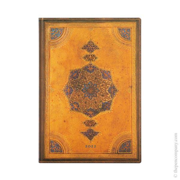 Midi Paperblanks Safavid Binding Art Flexi 2022 Diary 2022 Diary