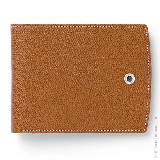 Cognac Graf von Faber-Castell Epsom Credit Card Case Holder - 2
