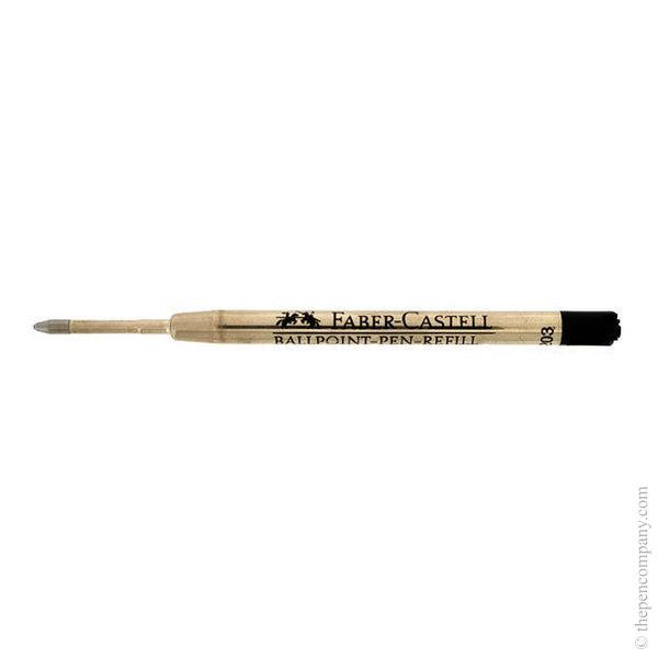 Black Faber-Castell Ball Pen Refill Medium