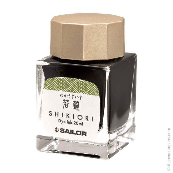 Wakauguisu Sailor Bottled Shikiori Ink