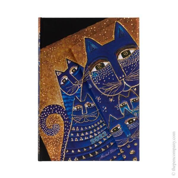 Mini Paperblanks Fantastic Felines 2022 Diary 2022 Diary
