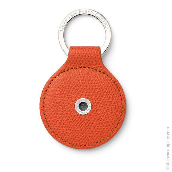 Burned Orange Graf von Faber-Castell Epsom Key Ring