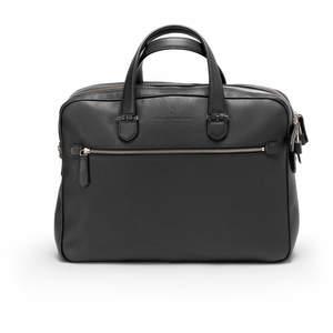 Black Graf von Faber-Castell Cashmere Briefcase Double - 1