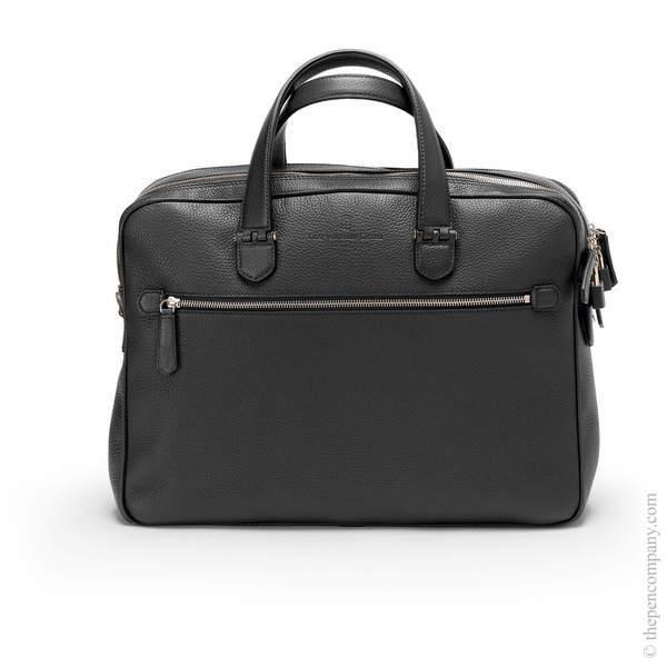 Black Graf von Faber-Castell Cashmere Briefcase Double
