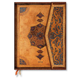 Ultra Paperblanks Safavid 2019 Diary Day-to-View - 1