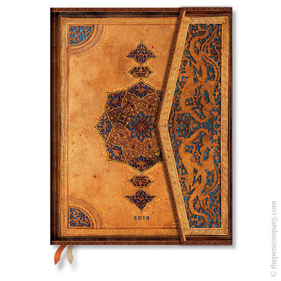Ultra Paperblanks Safavid 2019 Diary Vertical Week-to-View - 1