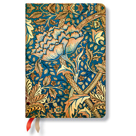 Paperblanks William Morris Windrush Midi 2016 horizontal diary - 1