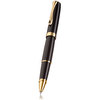 Black Lacquer Gold Diplomat Excellence A2 Rollerball Pen - 1