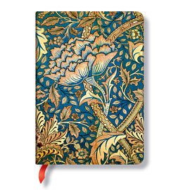 Lined Midi Paperblanks William Morris Windrush Journal - 1