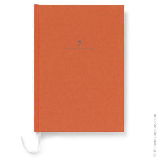 Burned Orange A5 Graf von Faber-Castell Linen Notebook - 1