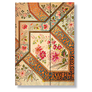 Midi Paperblanks Lyon Florals Ivory Address Book - 1