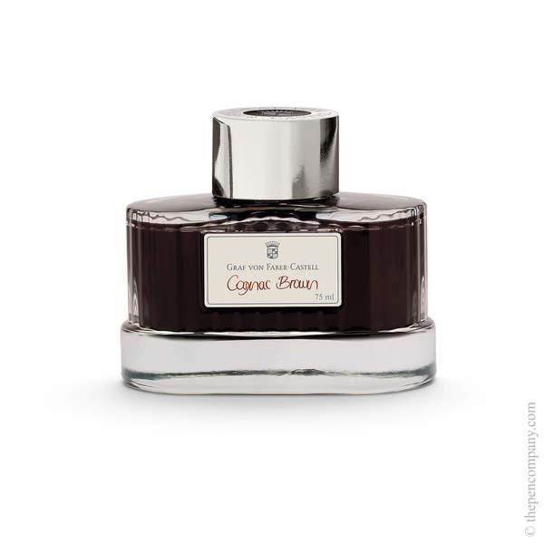 Cognac Brown Graf von Faber-Castell Bottled Fountain Pen Ink