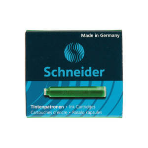 Green Schneider ink cartridges - 1
