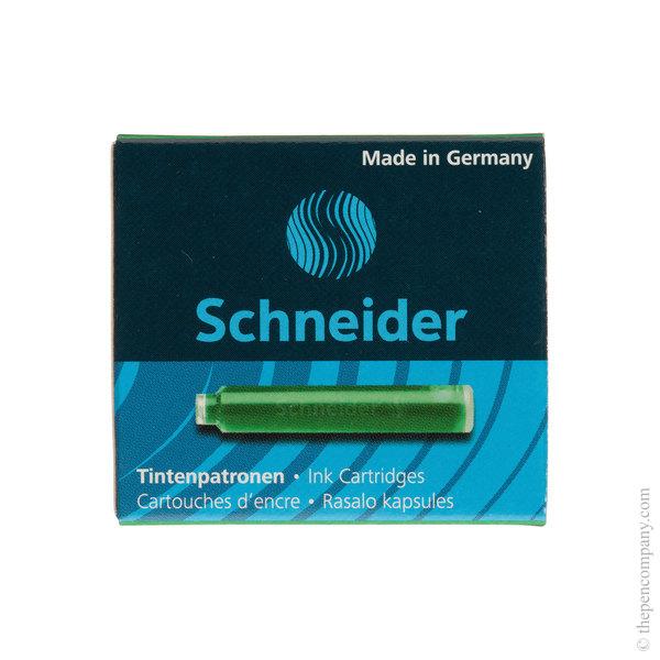 Green Schneider Ink Cartridges Refill