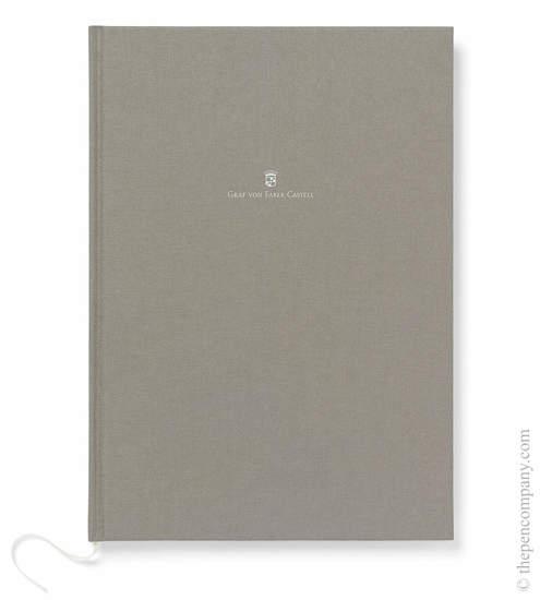 Grey A4 Graf von Faber-Castell Linen Notebook Journal - 1