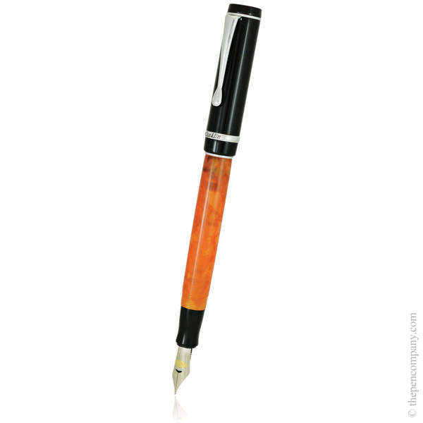 Orange Nights Conklin Duragraph Fountain Pen - Medium