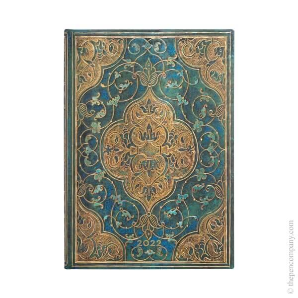Midi Paperblanks Turquoise Chronicles 2022 Diary 2022 Diary