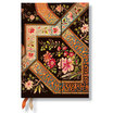 Paperblanks Filigree Floral Ebony Midi 2016 Horizontal Diary - 1