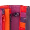 Mywalit Full Flap Multicomp Shoulder Clutch Bag Sangria Multi - 4