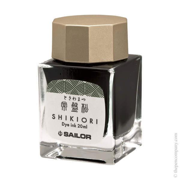 Tokiwa-Matsu Sailor Bottled Shikiori Ink